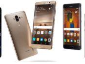 Huawei P10 Mate 9 Mate 9 Pro