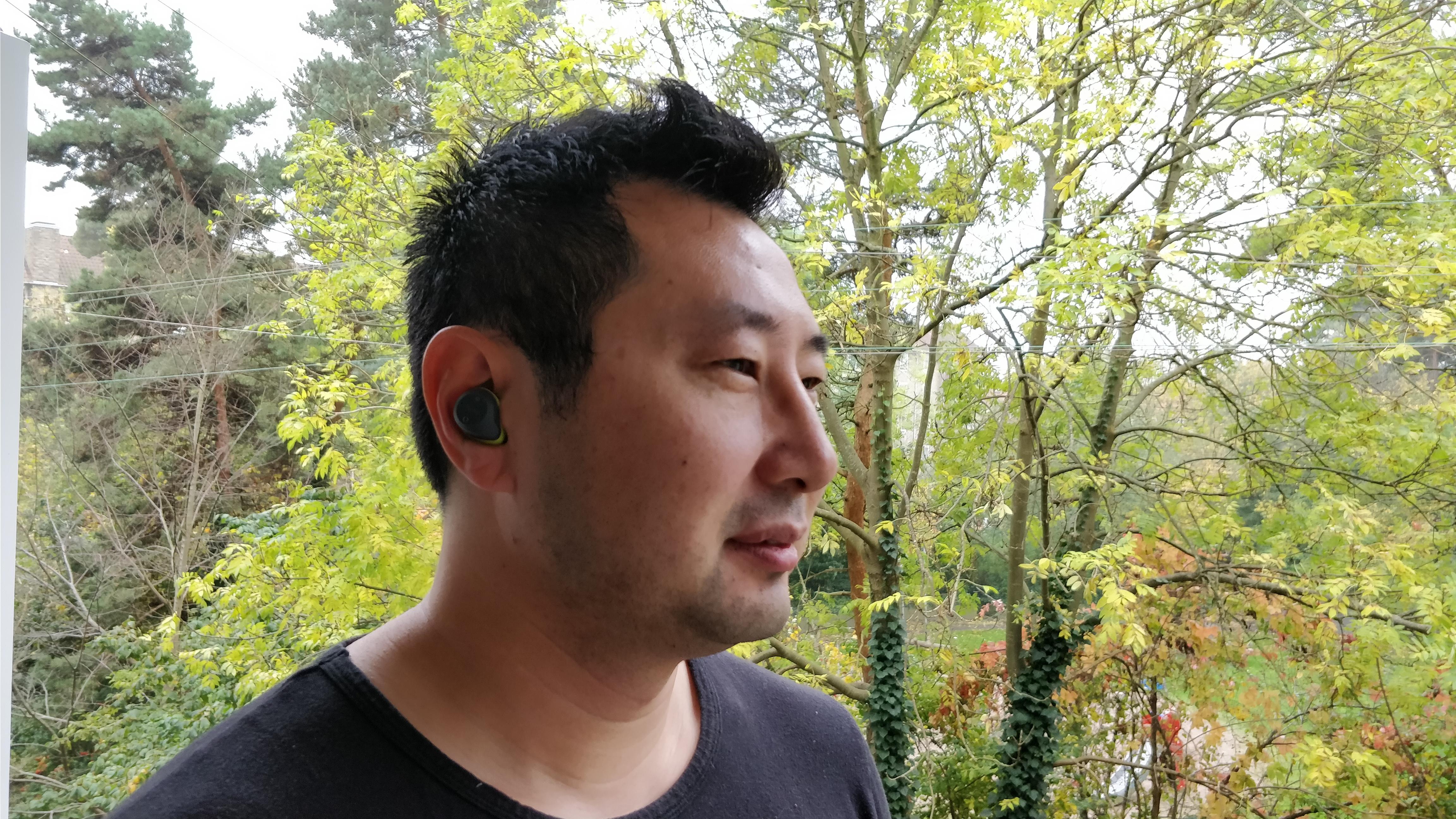 Jabra Elite Sport, 100 % trådløst headset.