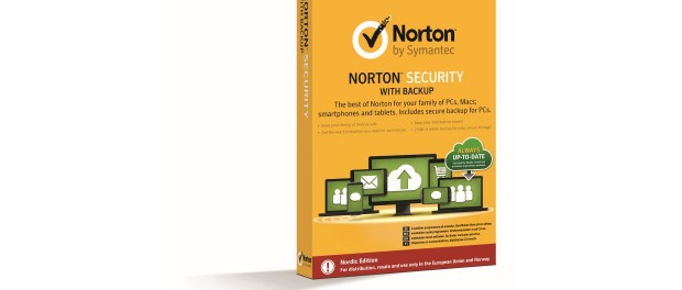 Norton Security med Backup