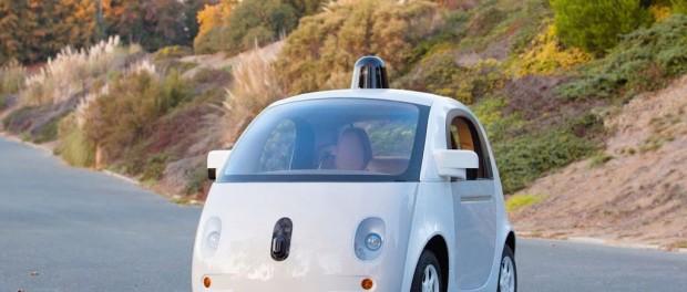 Google selvkørende bil
