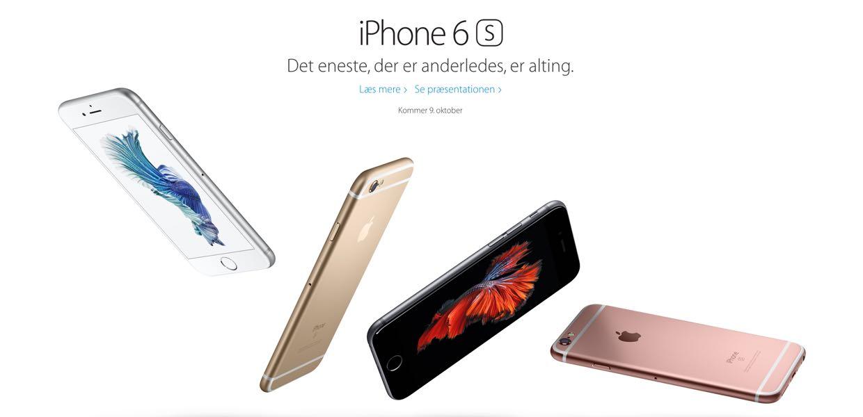 iphone 6s til salg i danmark