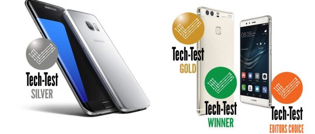 Samsung Galaxy S7 Edge vs Huawei P9