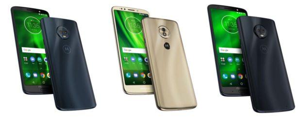 Moto G6 Plus, Moto G6 Play, Moto G6