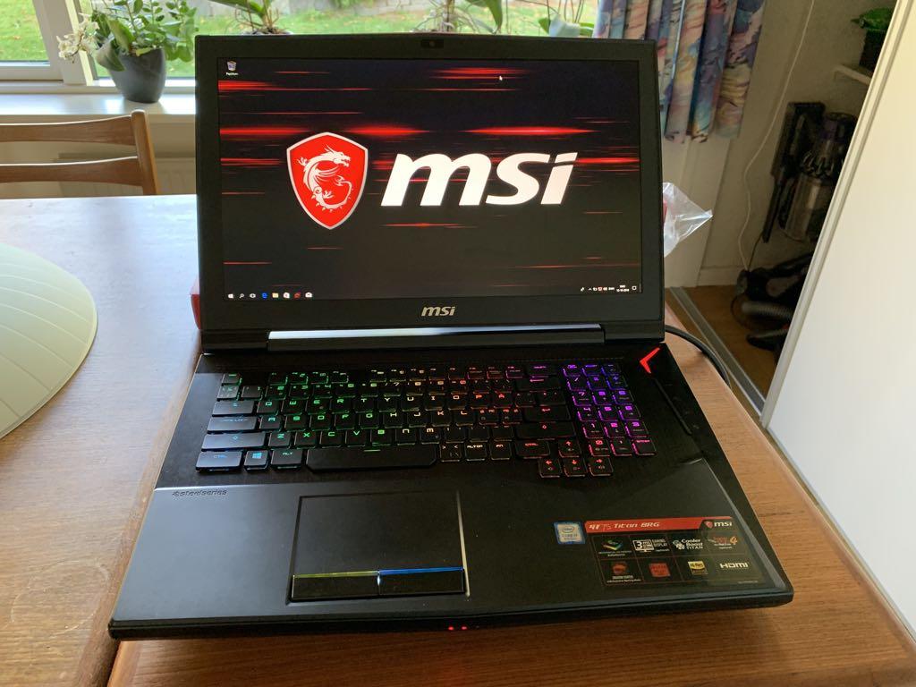 MSI GT75 Titan Pro. Foto: Lars Bennetzen