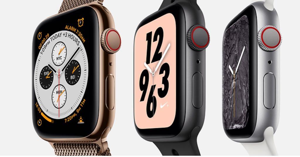 Apple Watch Series 4. Foto: Apple