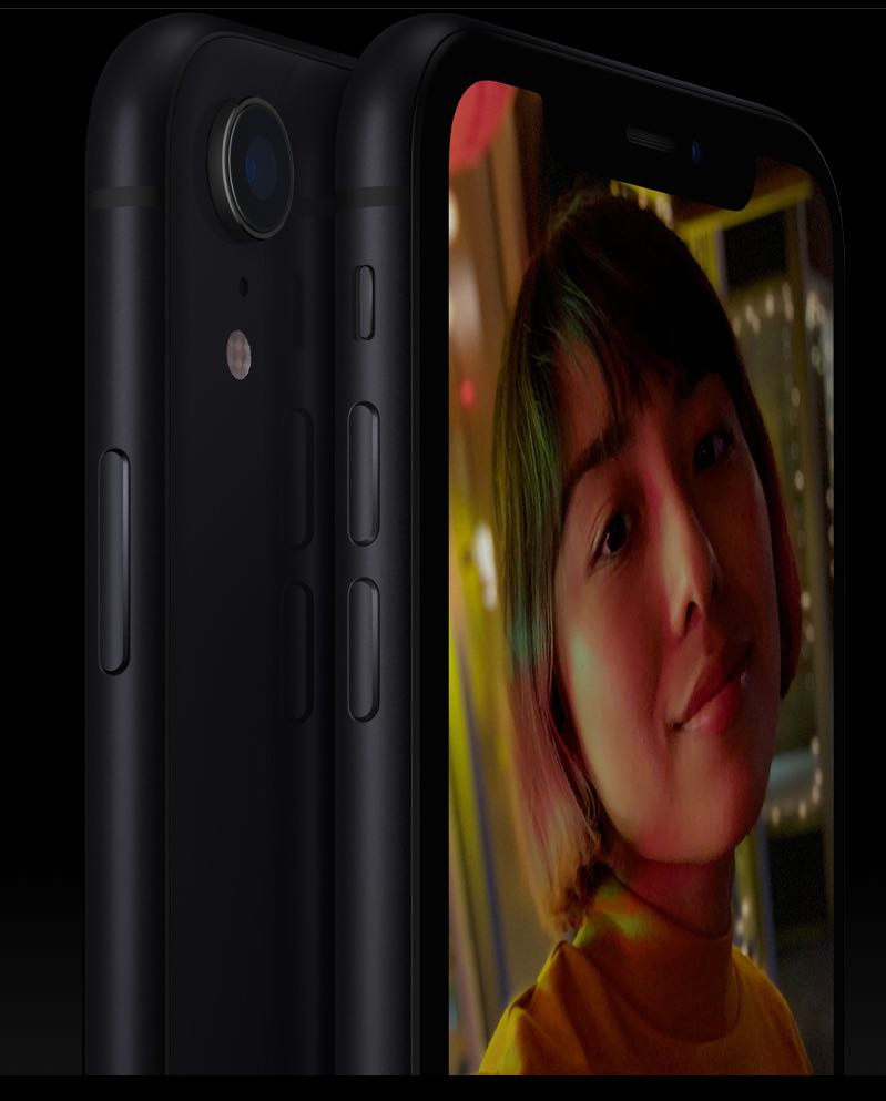 iPhone XR - superflot og elegant design. Foto: Apple