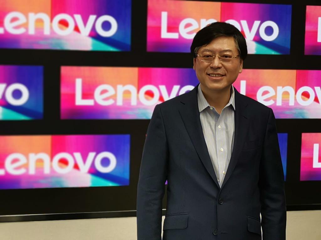 Lenovos CEO Yang Yuanqing tror på samarbejde og respekt for hinandens kulturer. Foto: Lars Bennetzen