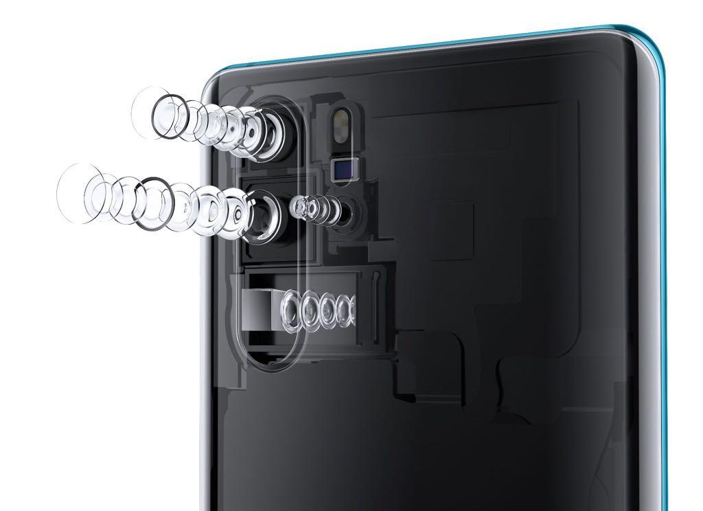 P30 Pro kamerasystem. Foto: Huawei