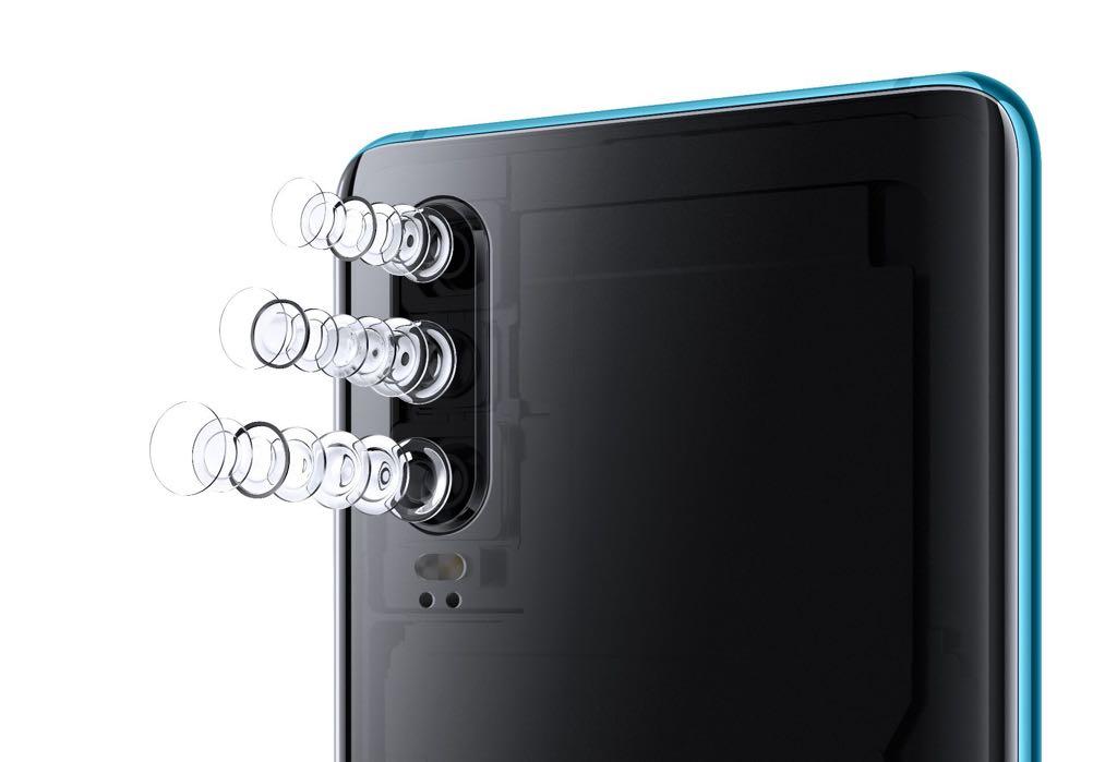 P30 kamerasystem. Foto: Huawei
