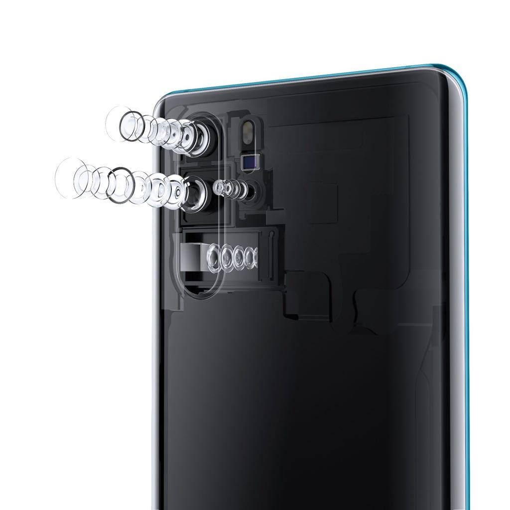 Huawei P30 Pro linsesystem. Foto: Huawei